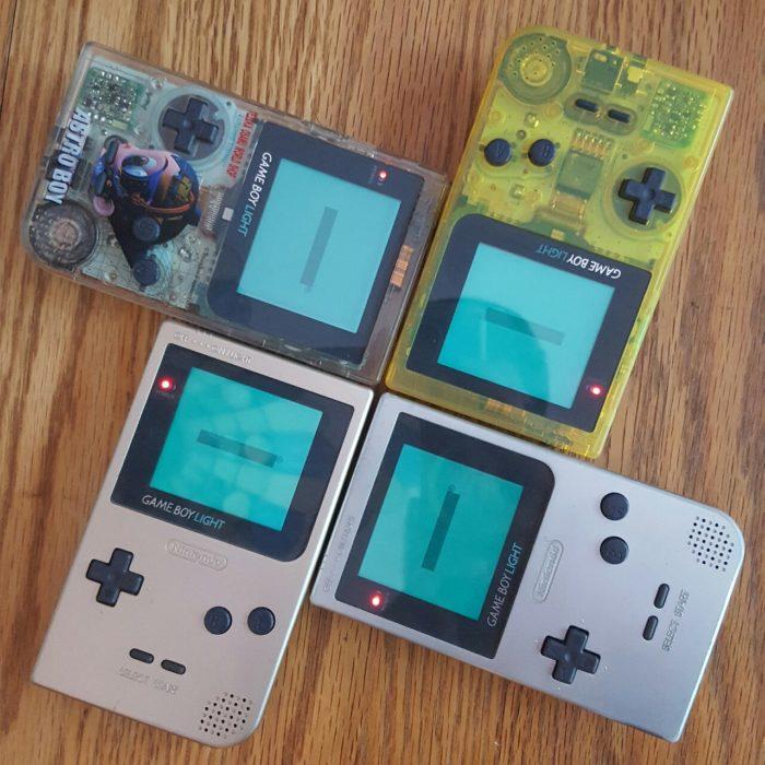 colección de Gameboys