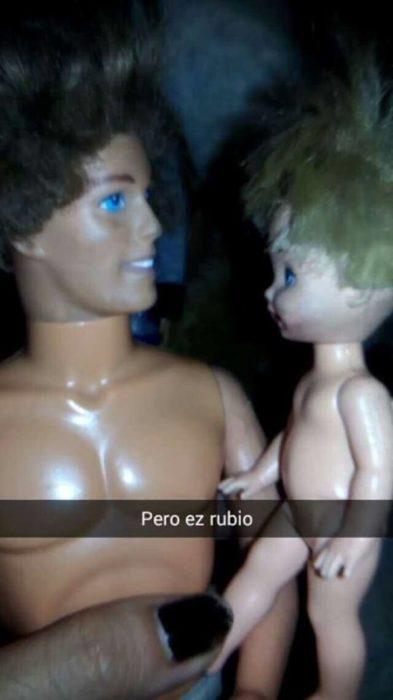 el niño es wero y no es de barbie