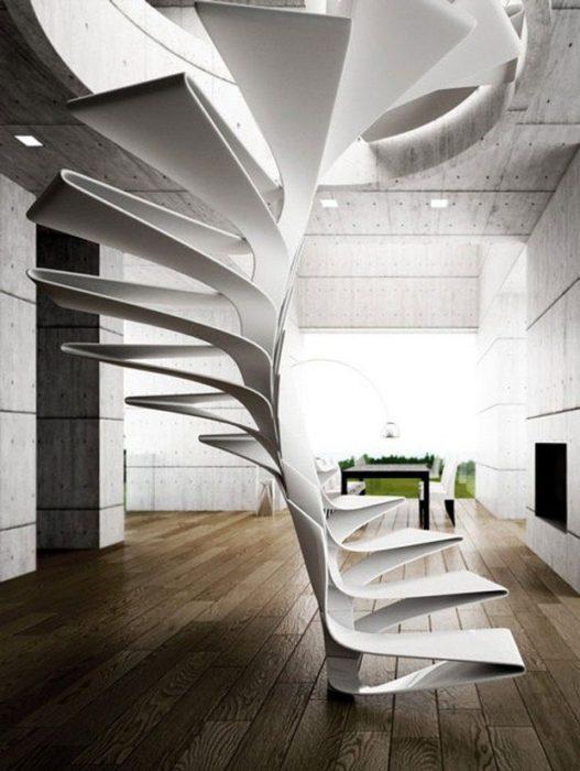 escalera diseño moderno