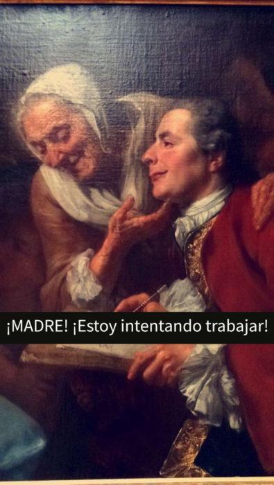 pintura snapchat museo madre