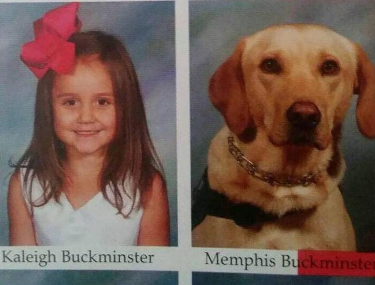 fotografía de una niña con su perro