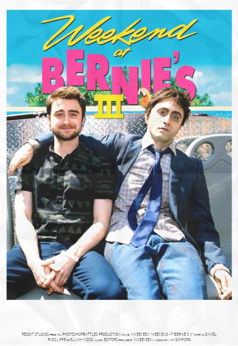 daniel radcliffe troll the weekend at bernies