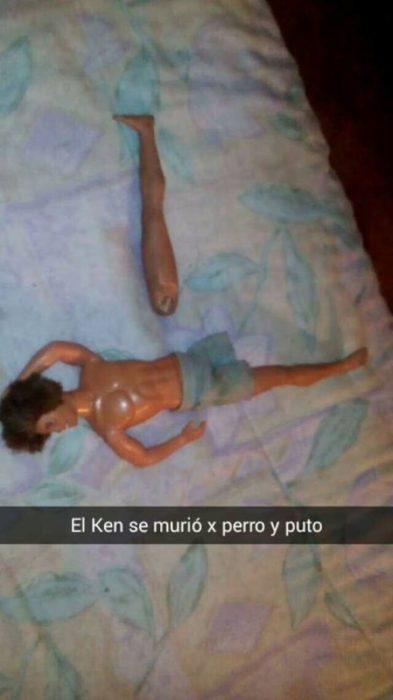 Ken y la pierna rota han muerto