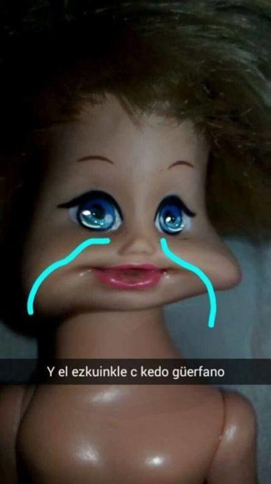 niño llorando por ken