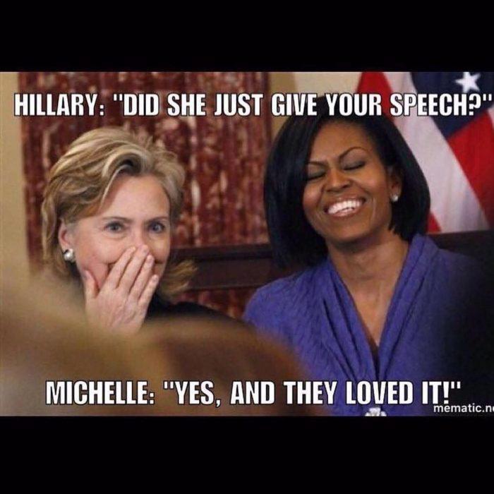 hillary y michelle obama