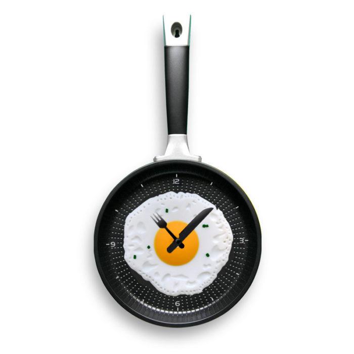 reloj sartén