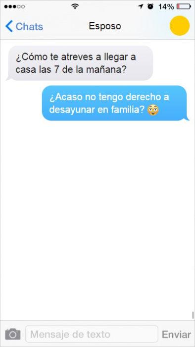 mensaje te texto hombre de familia