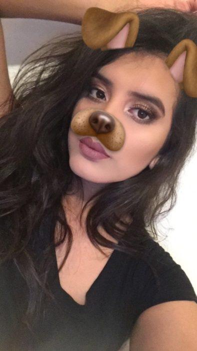 filtro de snpachat de perro