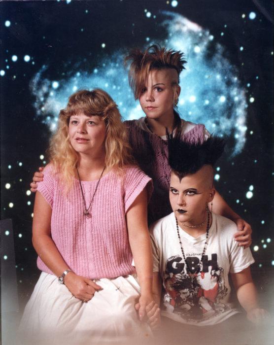 retrato de familia 80s