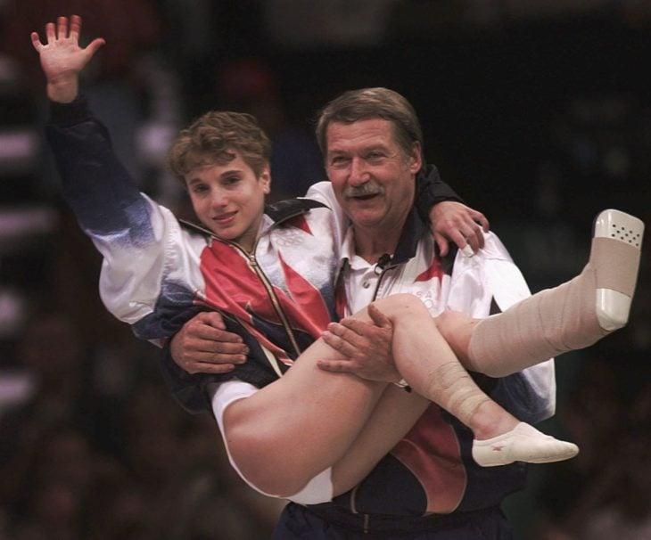 ganadora de gimnacia olímpica