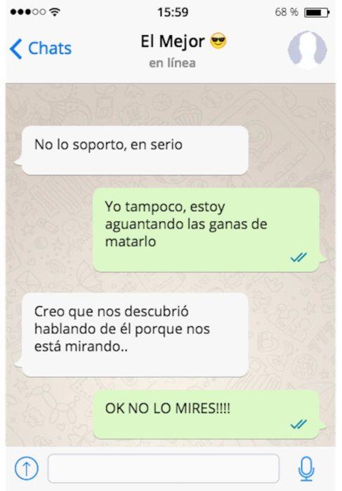 lo odio mensaje de texto