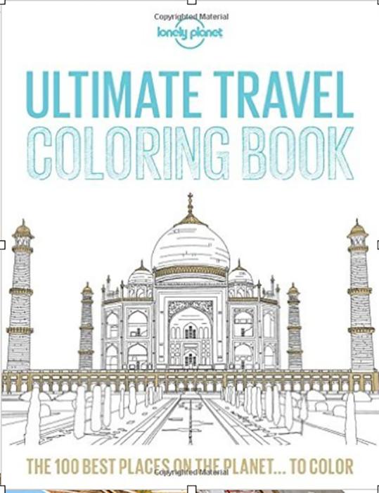 libro viajero para colorear