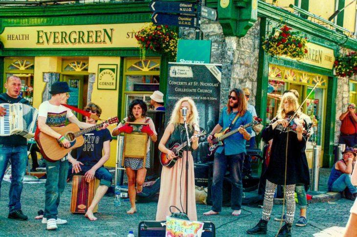 músicos en irlanda