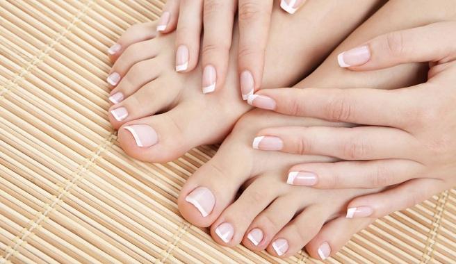 uñas bonitas de pies y manos