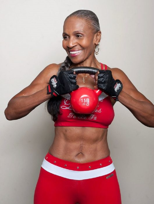 Ernestine Shepherd empezó a ejercitarse a los 56 años