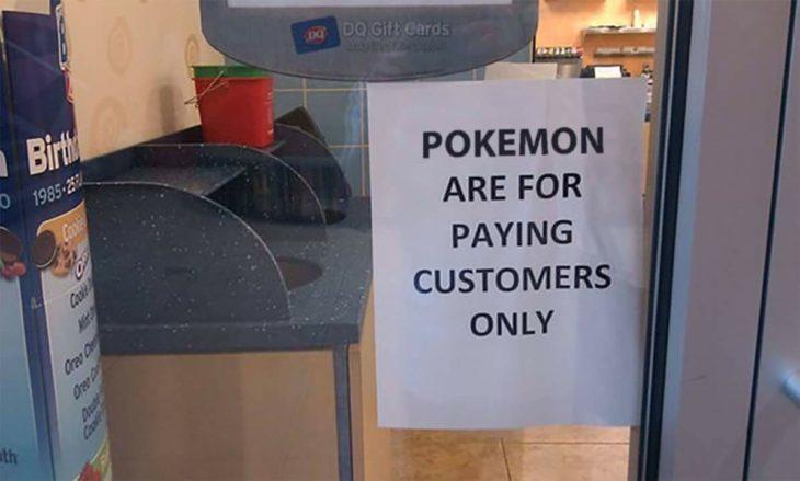 Adictos Pokemón Go pokemones para clientes