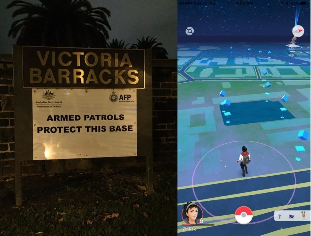 Adictos Pokemón Go victoria barracks