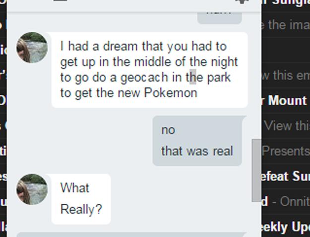 Adictos Pokemón Go soñe que salias
