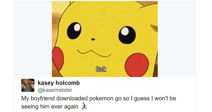 Adictos Pokemón Go mi novio
