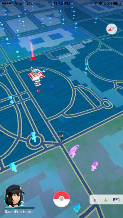 Adictos Pokemón Go. en la casa blanca
