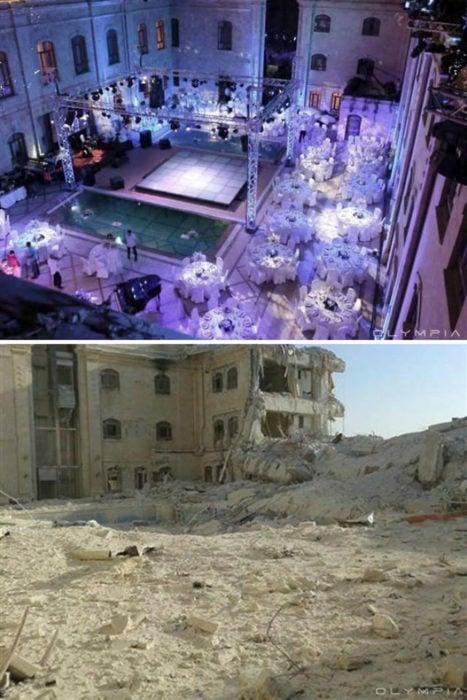 Aleppo, Síria, antes da guerra e depois dela guerra