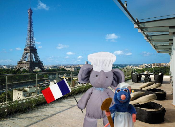 elefante en francia