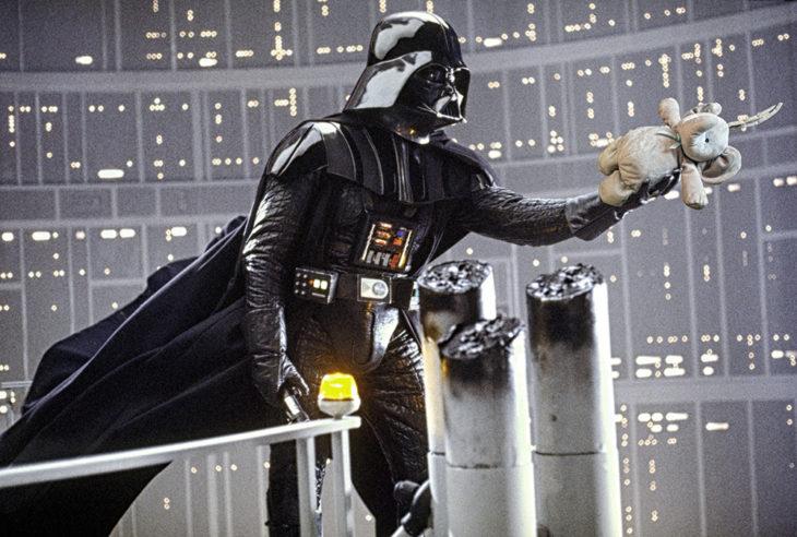 En la selfie con Darth Vader
