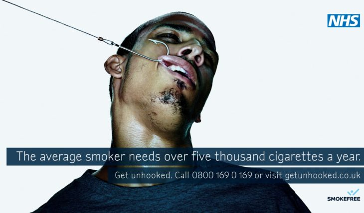 una campaña extensa de los daños que ocasiona el cigarro