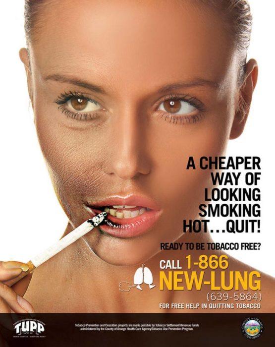 fumar mata la belleza