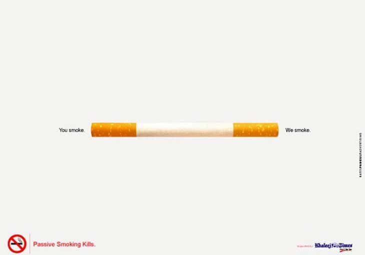 cigarro con dos colillas