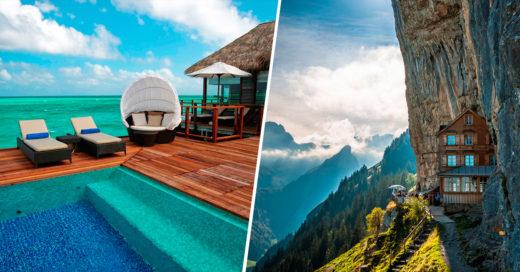 COVER 20 asombrosos hoteles que necesitas visitar antes de morir