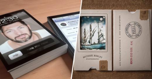 COVER 20 tarjetas de presentación poco convencionales que no podrían ser más creativas