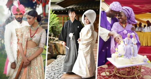 COVER Así lucen los trajes de boda de distintos lugares del mundo
