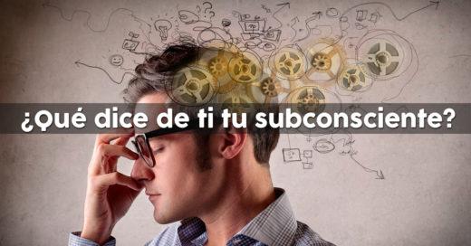 COVER Test Qué dice de ti tu subconsciente