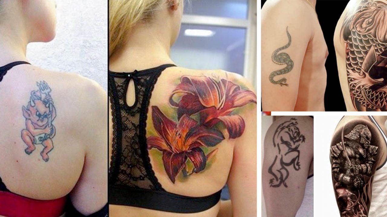 5e2dac8a Tatuajes que salieron mal y fueron cubiertos asombrosamente