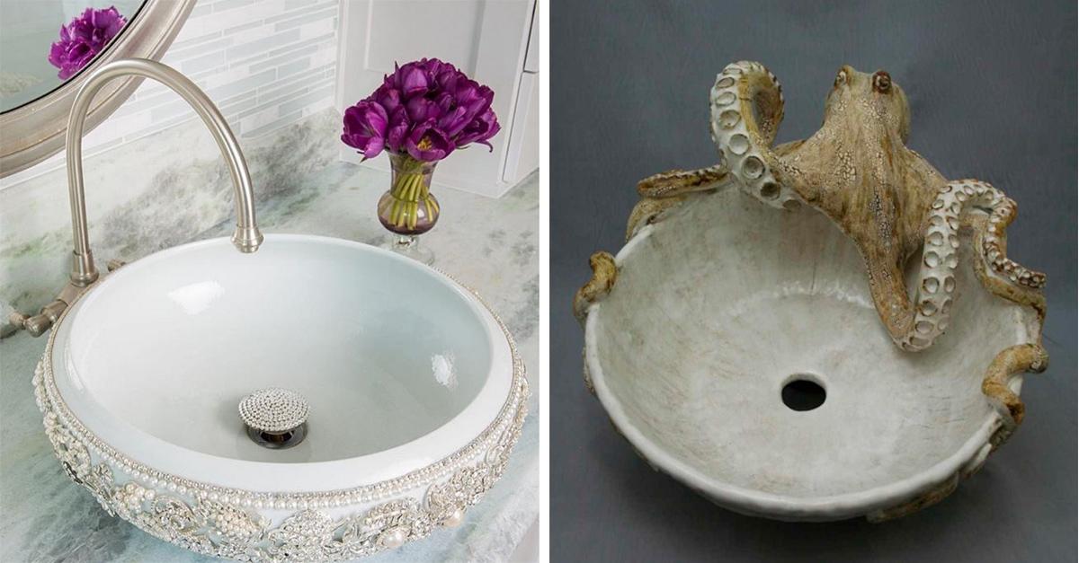 23 lavabos tan originales que desear s tenerlos ahora mismo for Lavabo de manos