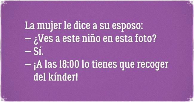 PASAR POR EL NIÑO AL KINDER