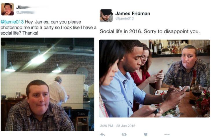 James Fridman puedes ponerme en una fiesta