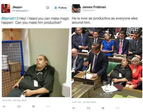 James Fridman haz magia