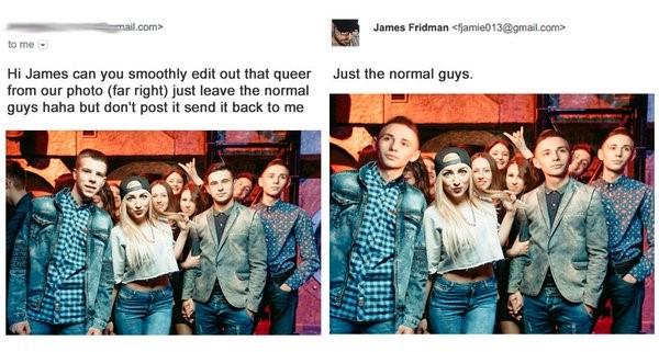 James Fridman solo deja a los chicos normales
