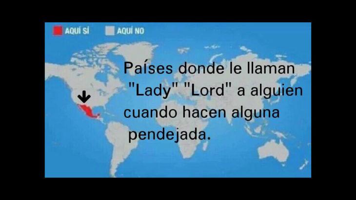 lugares donde en todos lados dejan una lord o lady