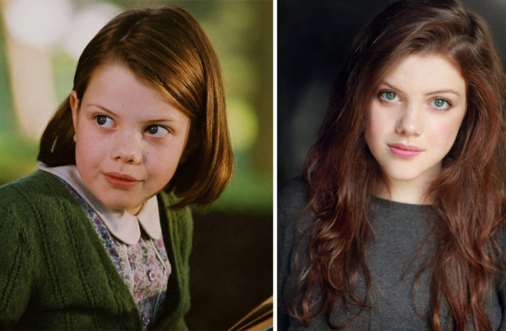 Lucy-peven antes e depois