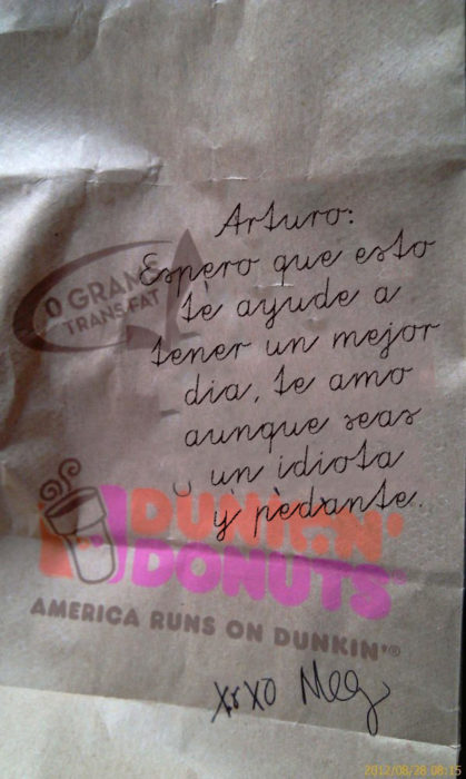 Arturo eres un pedante pero te amo