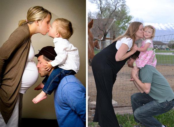 papá qe no le alcanza absesar la panza a mamá