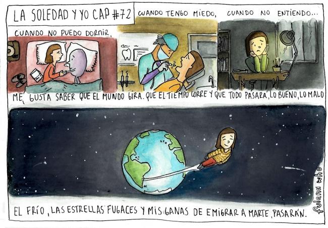 Soledad explica vida