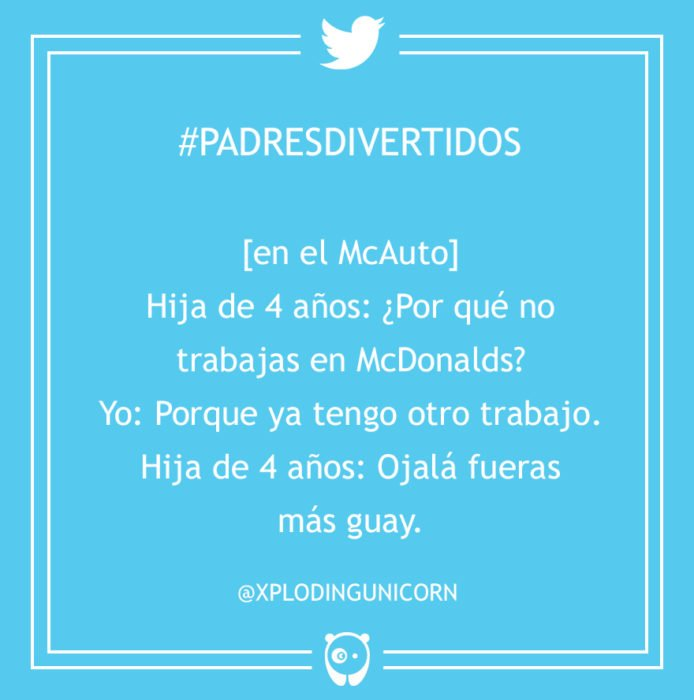 #PadresDivertidos mcdonalds