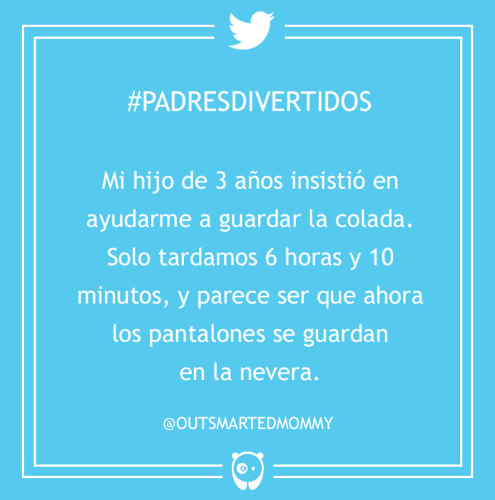 #PadresDivertidos pantalones en la nevera