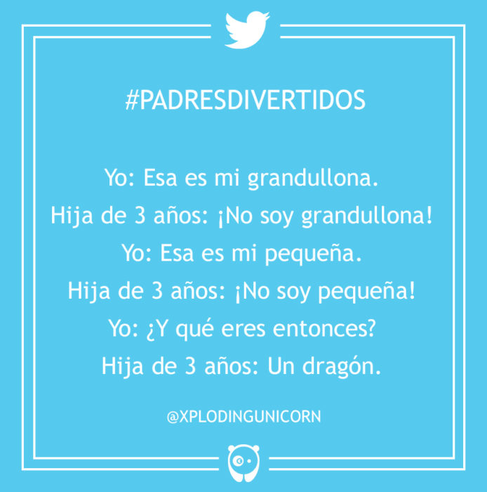 #PadresDivertidos esa es mi grandulona