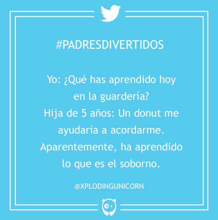 #PadresDivertidos que aprendiste en la guardería?