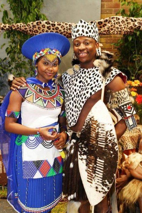 pareja de zulu